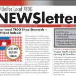 Local 780G Newsletter, June 2018 Issue