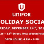 2018 Unifor Holiday Social – December 14, 2018