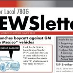 Local 780G Newsletter, March 2019 issue