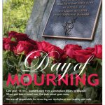 National Day of Mourning; events in BC